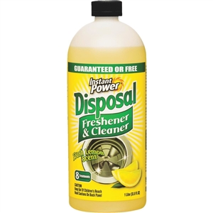 Instant Power Disposal And Drain Cleaner
